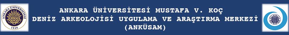 Ankara Üniversitesi Mustafa V. Koç Deniz Arkeolojisi Araştırma Merkezi